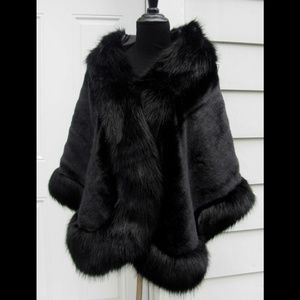 Luxury Faux Fox Mink Fur Stole
